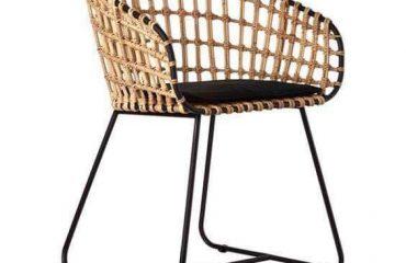 ghế đan dây dù, đan nhựa giả mây