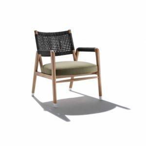 bàn ghế ngoài trời đan dây