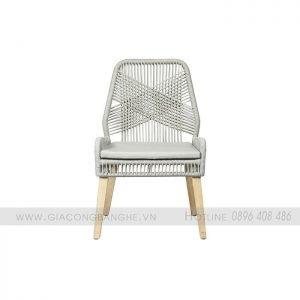 ghế ăn đan dây dù
