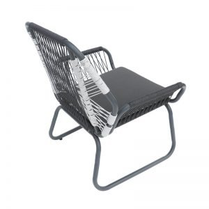 bàn ghế ngoài trời có nệm và gối