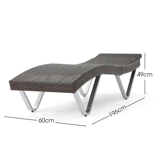 kích thước ghế dài phơi nắng bể bơi