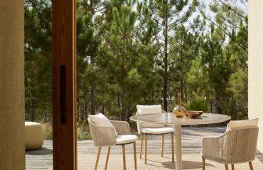 ghế ăn ngoài trời