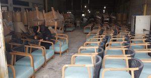 Xưởng sản xuất bàn ghế mây nhựa Bình Dương